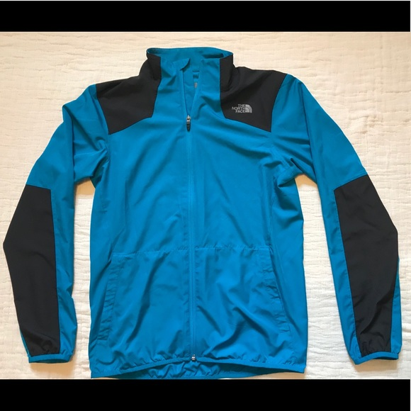 The North Face Other - 🏃🏼‍♂️ NORTH FACE Reactor Track Jacket Blue Black